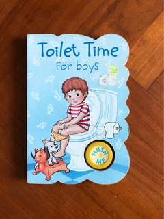 Toilet Time For Boys
