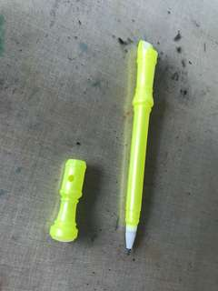 Erasable pen