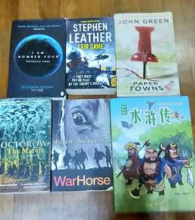 🚚 CHEAP STORYBOOKS AND NOVELS