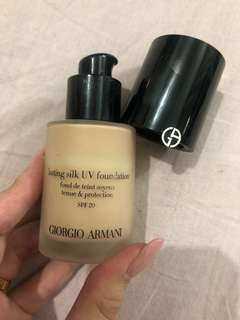 Armani slink foundation SPF20