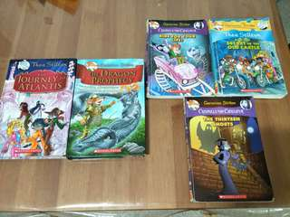 Preloved Geronimo Stilton books