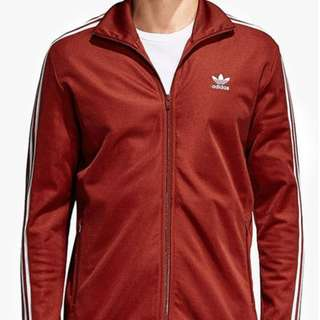 ADIDAS ORIGINALS ADICOLOR NEW TRACKSUIT BECKENBAUER RED SIZE S