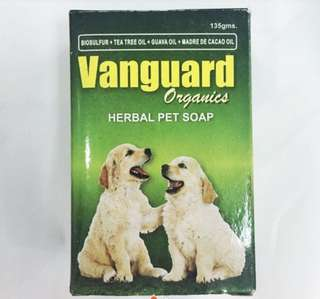 Vanguard Herbal Pet Soap