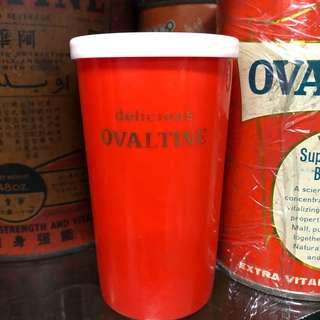 Ovaletine plastic mug