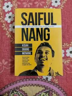 Saiful Nang's Book