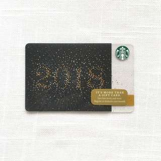 Starbucks 2018 Card - US