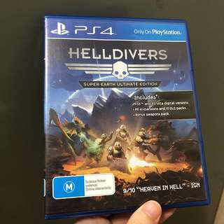 Helldivers PS4 Game