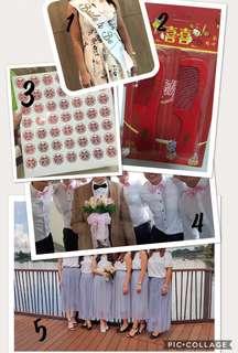 Wedding stuffs - refer to description