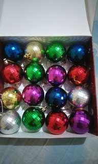 Hiasan Natal Bola Disco