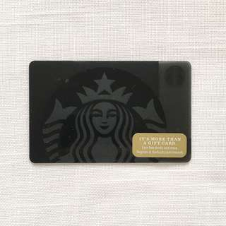 Starbucks Black Card - US