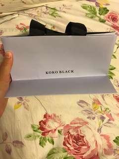 澳洲朱古力品牌KOKO BLACK 紙袋