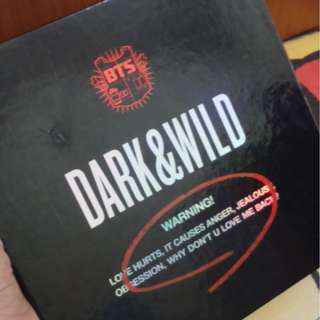 [WTS] BTS Dark & Wild Official Album with J-hope Photocard