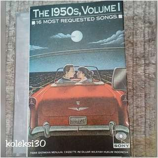 Kaset 1950s most requested songs