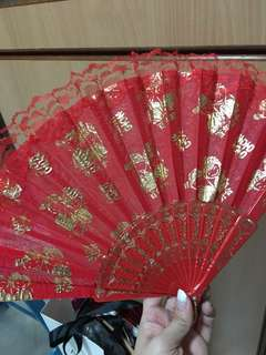 Wedding fan Brand New