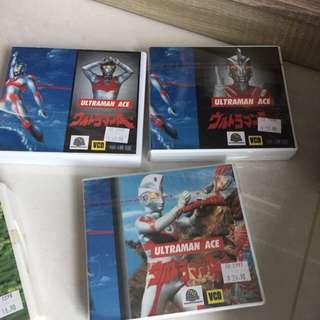Ultraman ace vcds