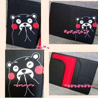 日本同步可愛熊本 Kumamoto 咭包/護照包 📮包郵
