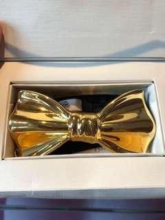 金色陶瓷煲呔bow tie