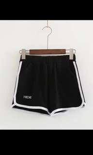 🚚 高腰運動風棉短褲