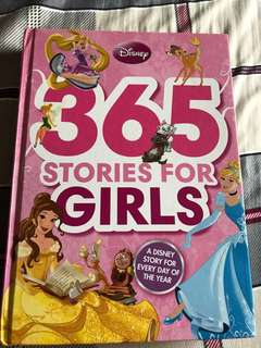 Disney 365 Girls Story Book