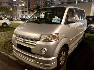 Suzuki Carry 8seaters car for Monthly, weekly and Daily rental