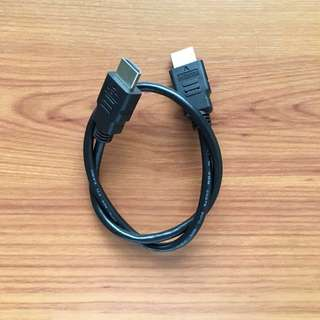 HDMI to HDMI Cable - 1ft