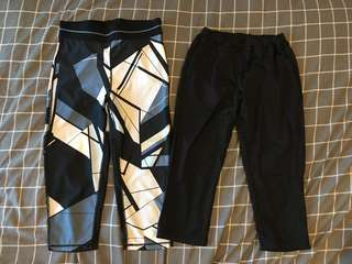 Two pairs of fitness leggings!