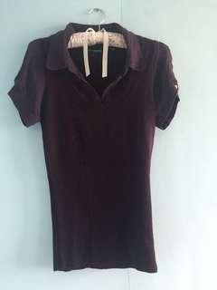 REPRICED:Purple Blouse (Tokito)