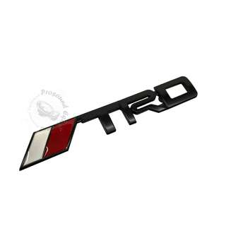3D TRD RACING METAL BLACK GRILLE EMBLEM BADGE LOGO