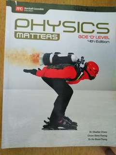 Physics textbook O lvl