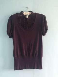 REPRICED:Purple Blouse (Next)
