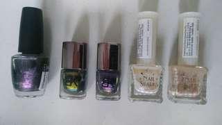 Nail Polish ( by Opi, BK, Nail Sparks)