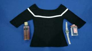 Longsleeves Blouse (Black)