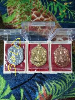 Thai Amulet Wat BanRai Lp Thong Uncut Sema Be2560