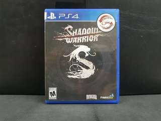 PS4 Shadow Warrior (Used Game)