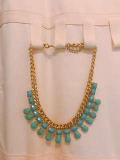 購自韓國 Chunky Necklace 金屬頸鏈