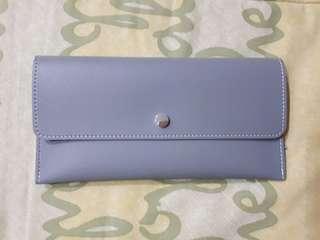Dompet (Long Wallet) Miniso - Blue