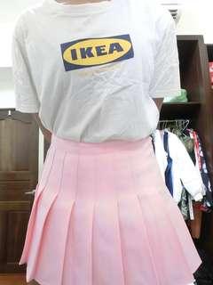 🚚 粉色百褶裙(含內裡)