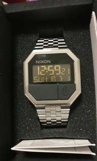 Nixon Rerun Silver
