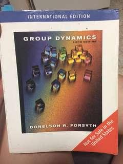 Group dynamics 5th Ed. Forsyth.