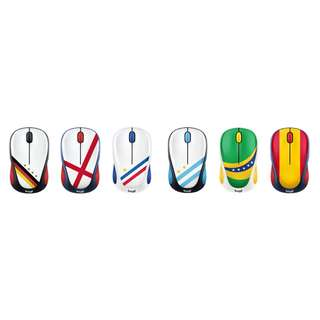 Logitech羅技M238 經典足球無線滑鼠 Classic world football wireless mouse