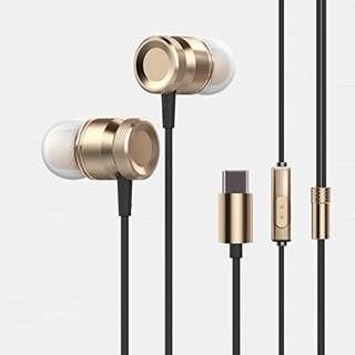 1067. ANTFEES USB Type-C Earphone In-Ear Full digital lossless audio