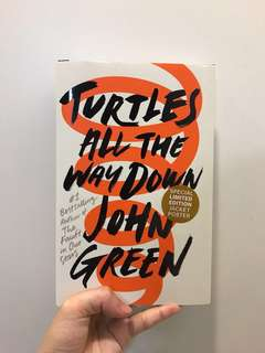 BRAND NEW Turtles All The Way Down, by the #1 Bestselling author John Green