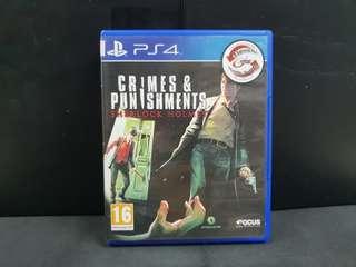 PS4 Sherlock Holmes: Crimes & Punishment (Used Game)