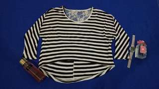 Longsleeves Blouse (Stripes)