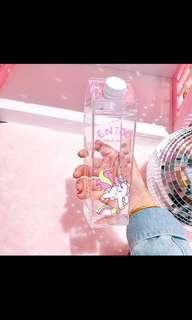 🚚 PO Korean Creative Milk Plastic Bottles