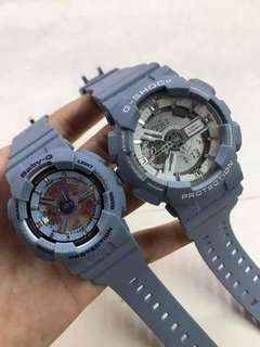 DENIM COUPLE GSHOCK WATCH