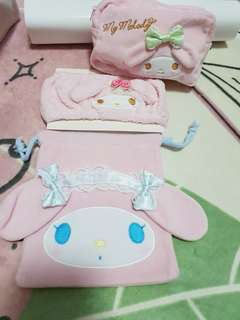 My Melody Pouches & Head Band