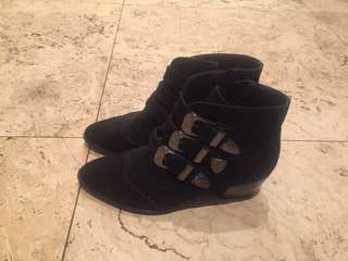 Boohoo western style boots