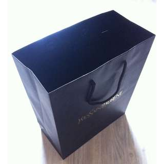(半價) YVES SAINT LAURENT YSL Paper Shopping Gift Bag 紙袋 禮物袋 (Half Price)