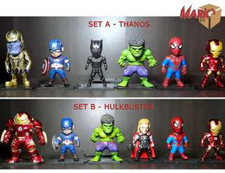 Marvel's Avengers: Infinity War: 6-piece sets Toy Figures Collection